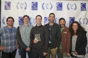 Resurface Crew at Ocean Film Festival, 2017